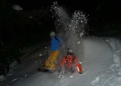 Vollmond Schneeschuhtour