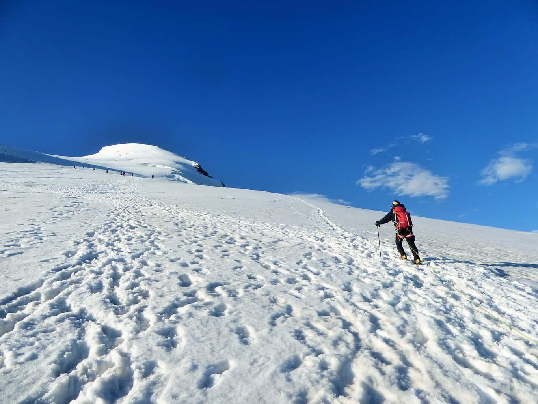 Im Aufstieg zum Bishorn
