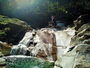 Canyoning,Zwischbergenschlucht5