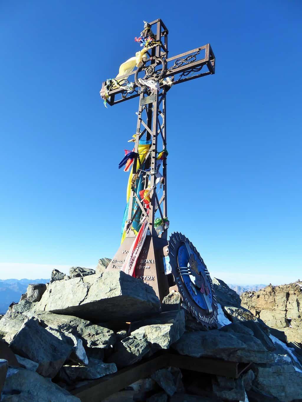 Monviso Gipfelkreuz