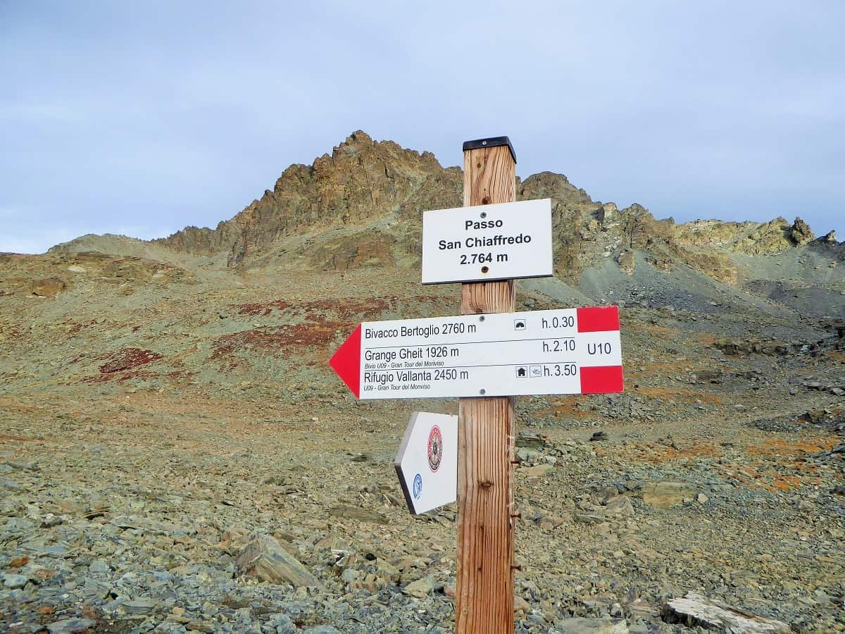 Passo San Chiaffredo