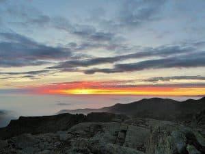 Trekking Monviso Sonnenaufgang