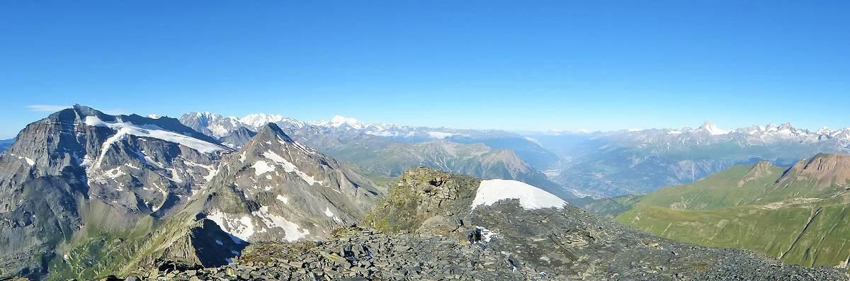 Gipfel-Panorama