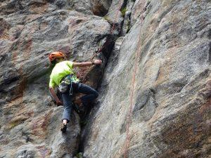 Aufbaukurs Klettern