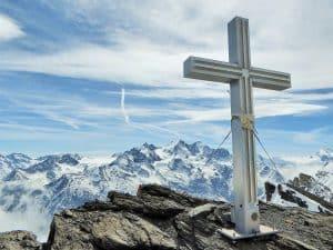 Barrhorn Gipfelkreuz