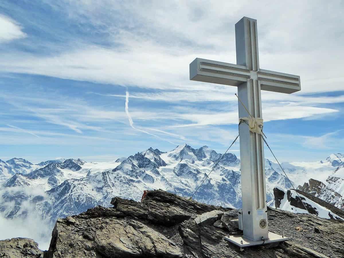 Barrhorn Gipfel-Kreuz