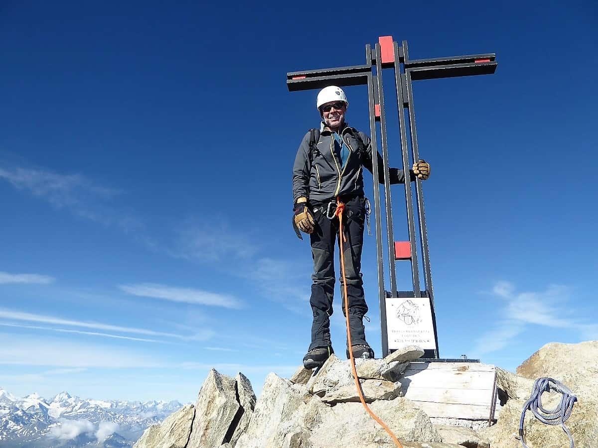 Bietschhorn Ost-Sporn Walter Gipfel