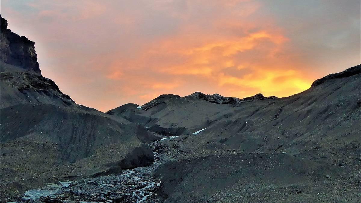 Hochtour Wildstrubel Sonnenaufgang