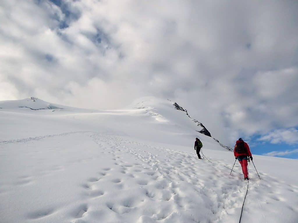 Hochtouren-Kurs mit 4000er Besteigung Aufstieg Bishorn