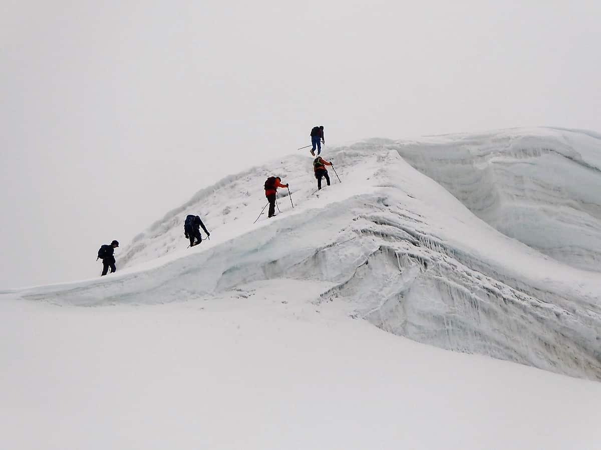 Hochtouren-Kurs mit 4000er Besteigung Gipfel Bishorn