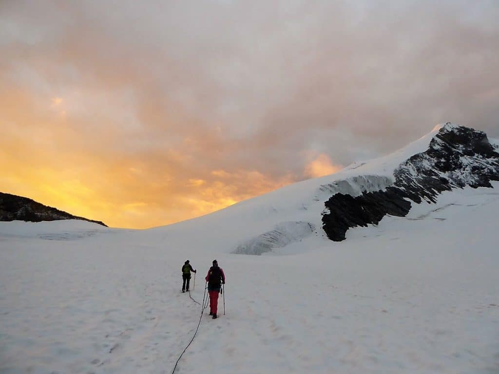 Hochtouren-Kurs mit 4000er Besteigung Sonnenaufgang