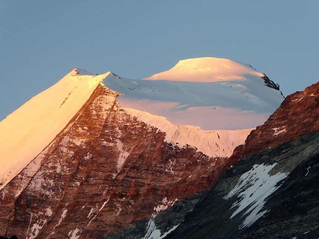 Hochtouren-Kurs mit 4000er Besteigung Sonnenaufgang Bishorn