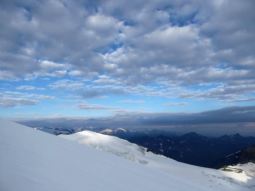 Hochtouren-Kurs mit 4000er Besteigung Wolken