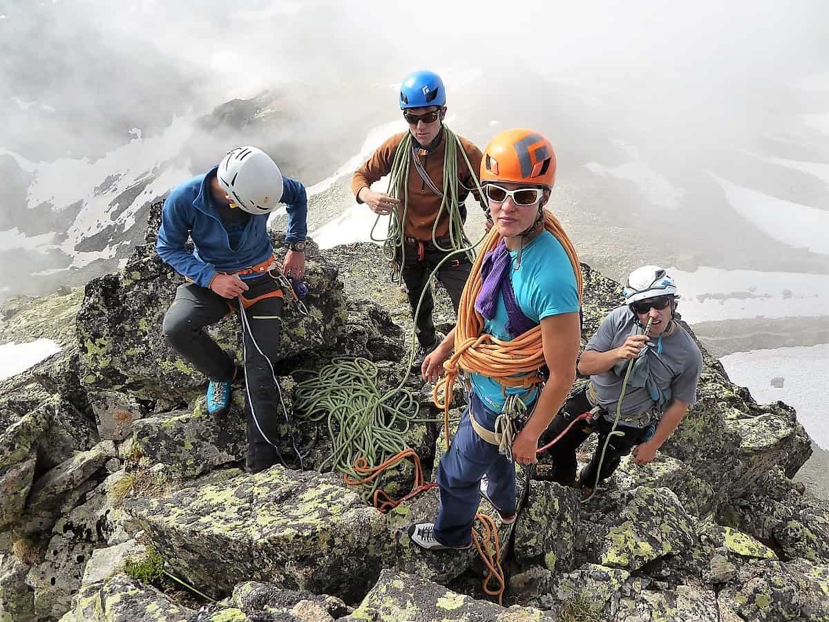 J+S Kursleiter 1 Bergsteigen im Orny- Trientgebiet 1
