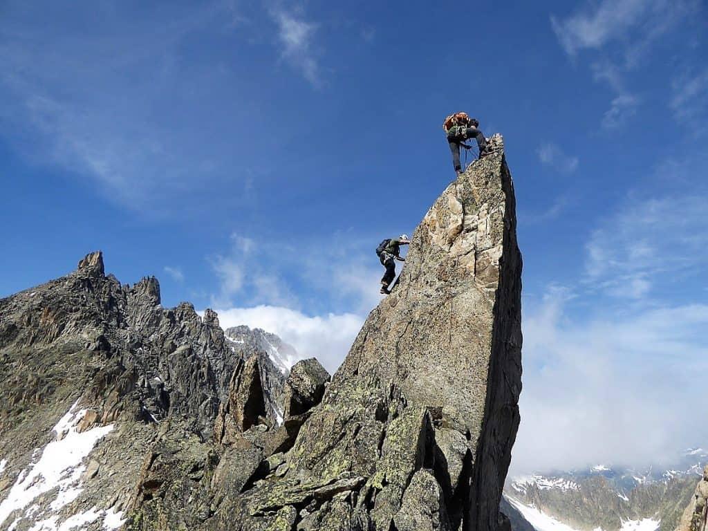 J+S Kursleiter 1 Bergsteigen im Orny- Trientgebiet Aguille Arpette