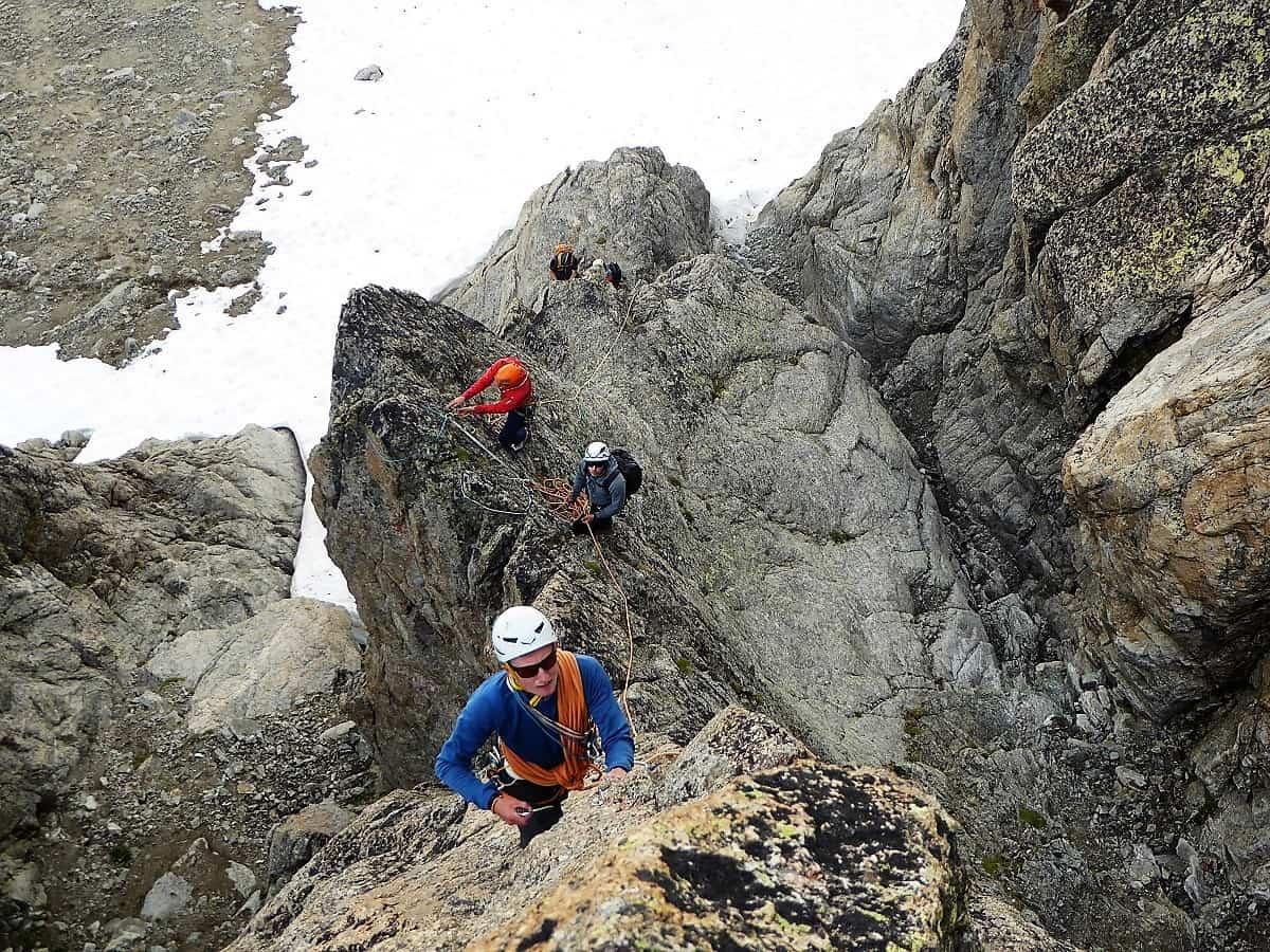 J+S Kursleiter 1 Bergsteigen im Orny- Trientgebiet Aguille Orny