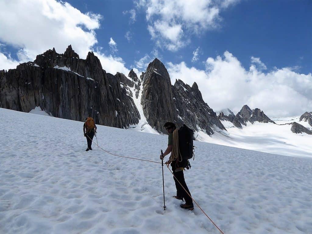 J+S Kursleiter 1 Bergsteigen im Orny- Trientgebiet Aiguilles Doréers