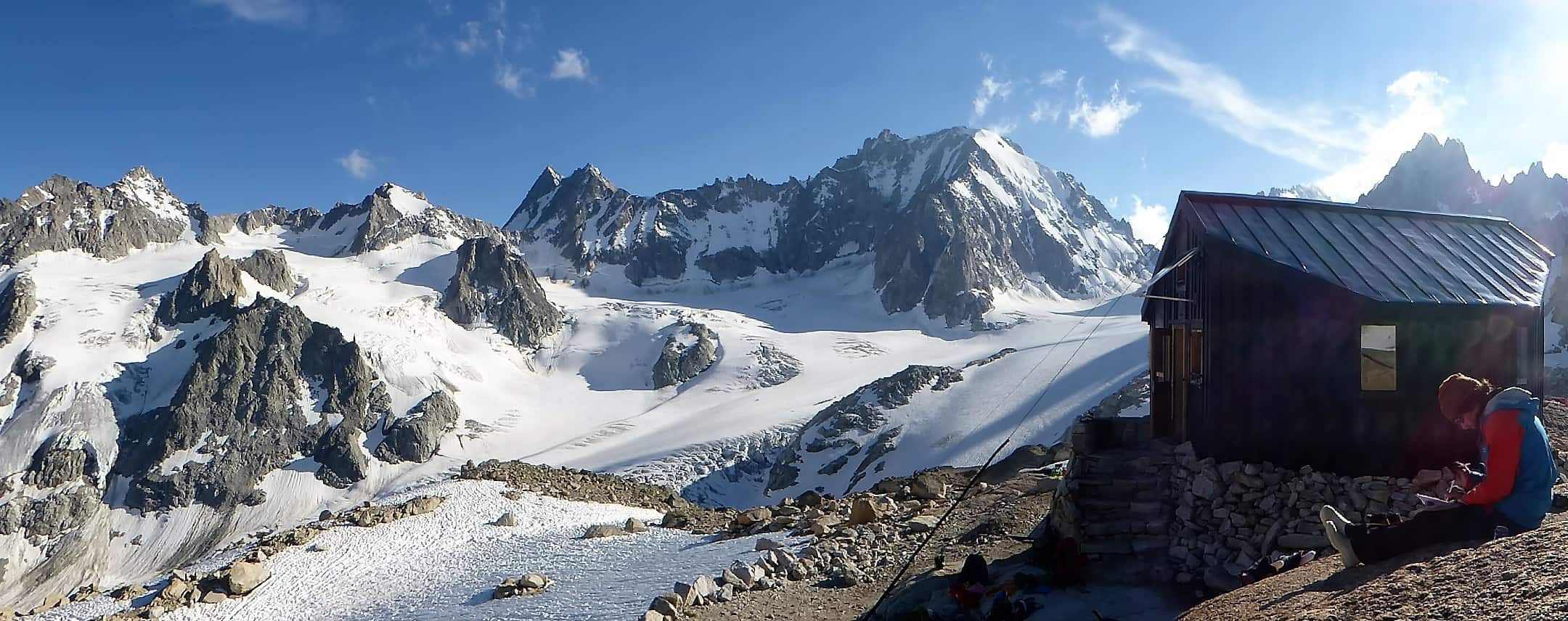 J+S Kursleiter 1 Bergsteigen im Orny- Trientgebiet Bivac Envers 1