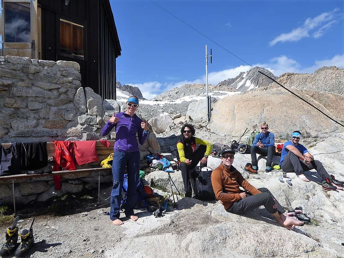 J+S Kursleiter 1 Bergsteigen im Orny- Trientgebiet Bivac Envers