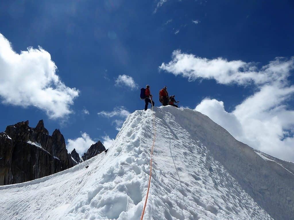 J+S Kursleiter 1 Bergsteigen im Orny- Trientgebiet Col des Plines