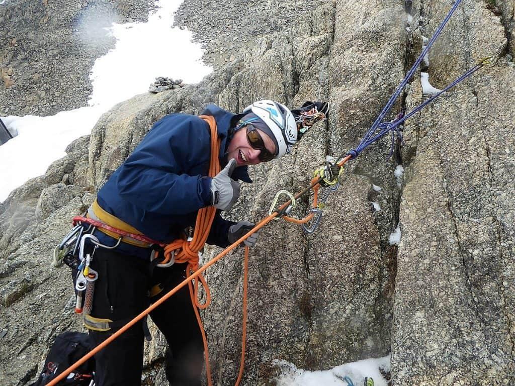 J+S Kursleiter 1 Bergsteigen im Orny- Trientgebiet Flaschenzug