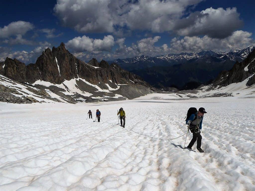 J+S Kursleiter 1 Bergsteigen im Orny- Trientgebiet Glacier Orny