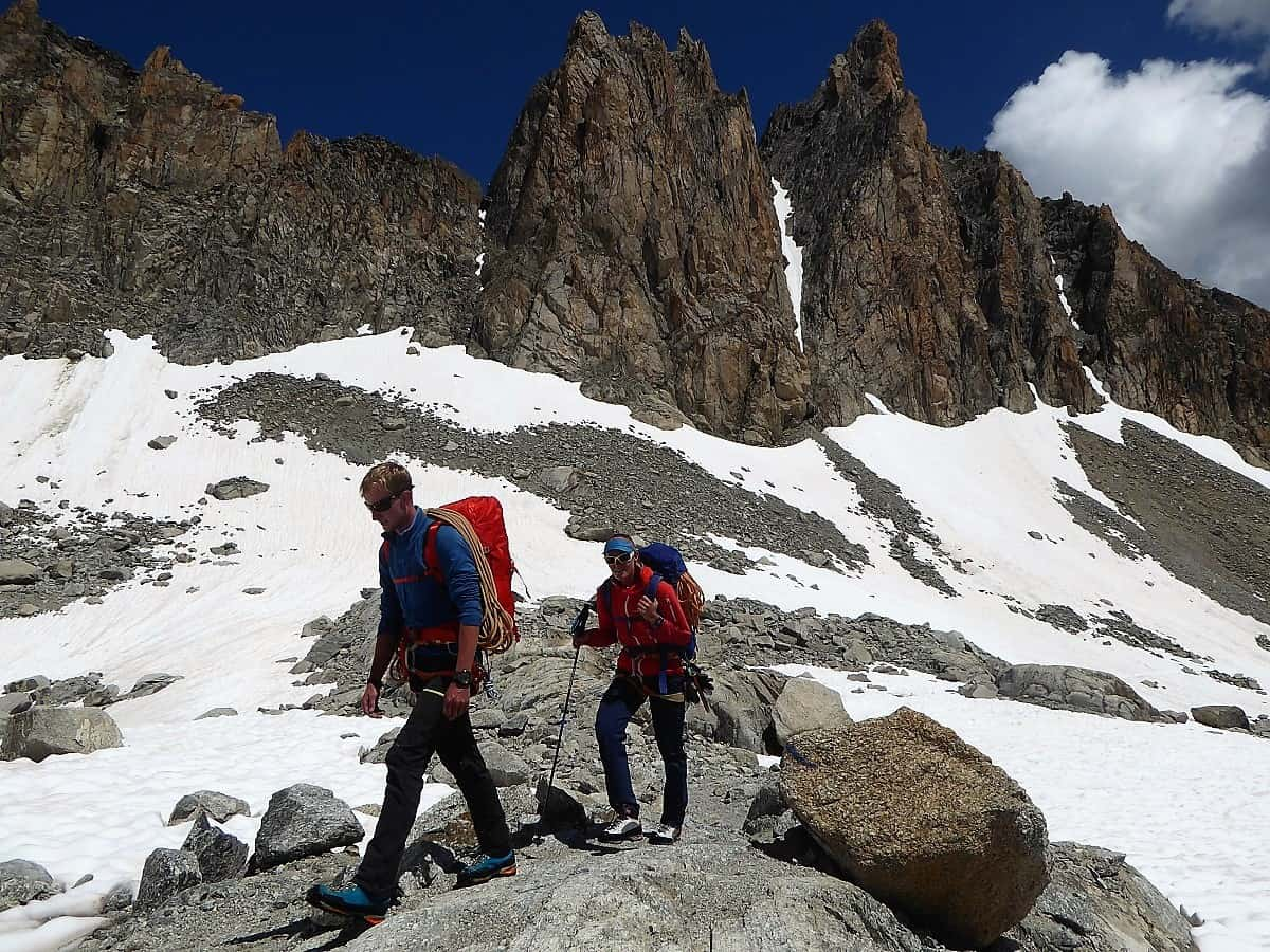 J+S Kursleiter 1 Bergsteigen im Orny- Trientgebiet