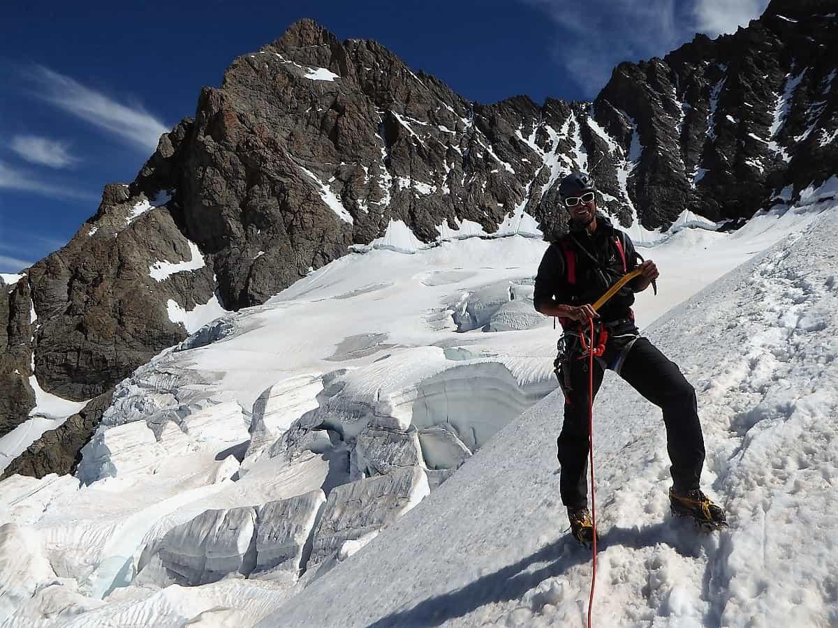 Schreckhorn-Gletscher