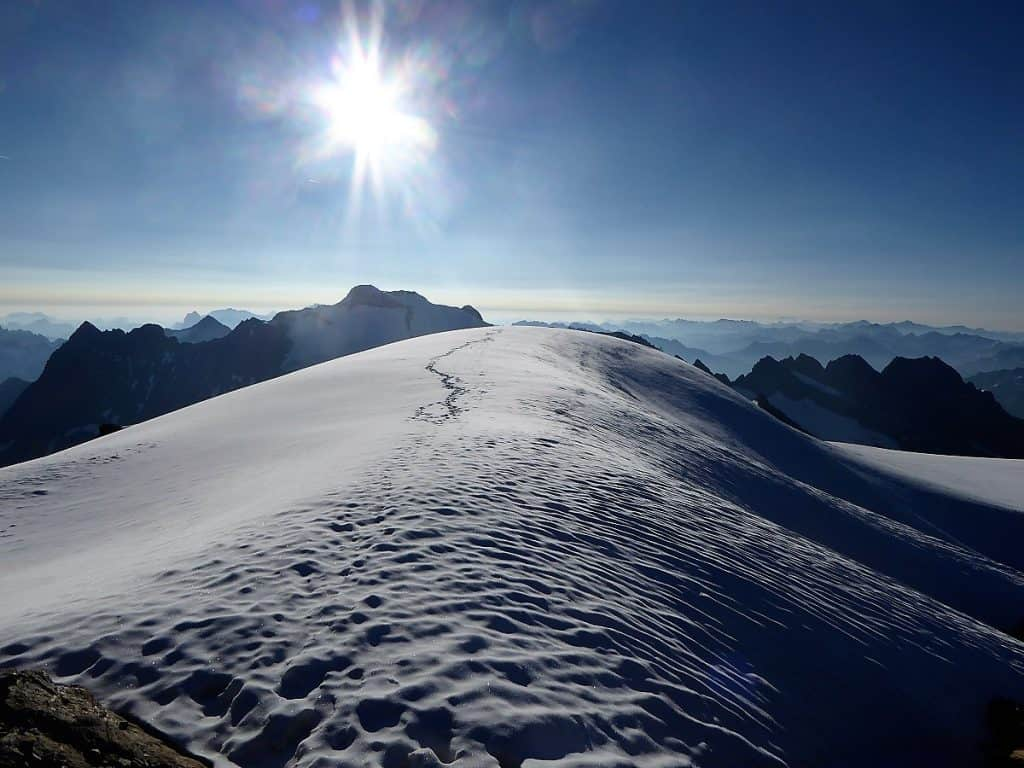 Sustenhorn Gwächtenhorn Gipfel Gwächtenhorn