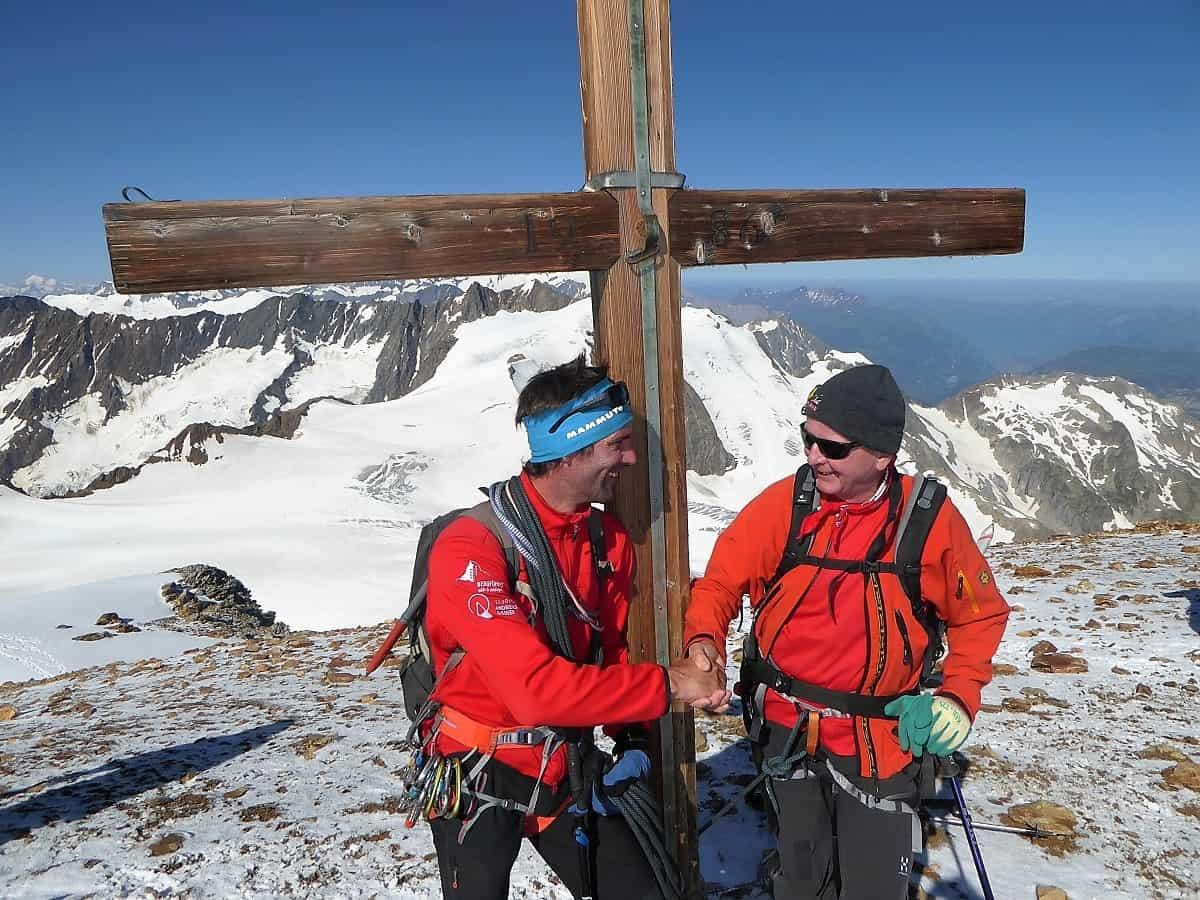 Sustenhorn Gwächtenhorn Gipfelglück