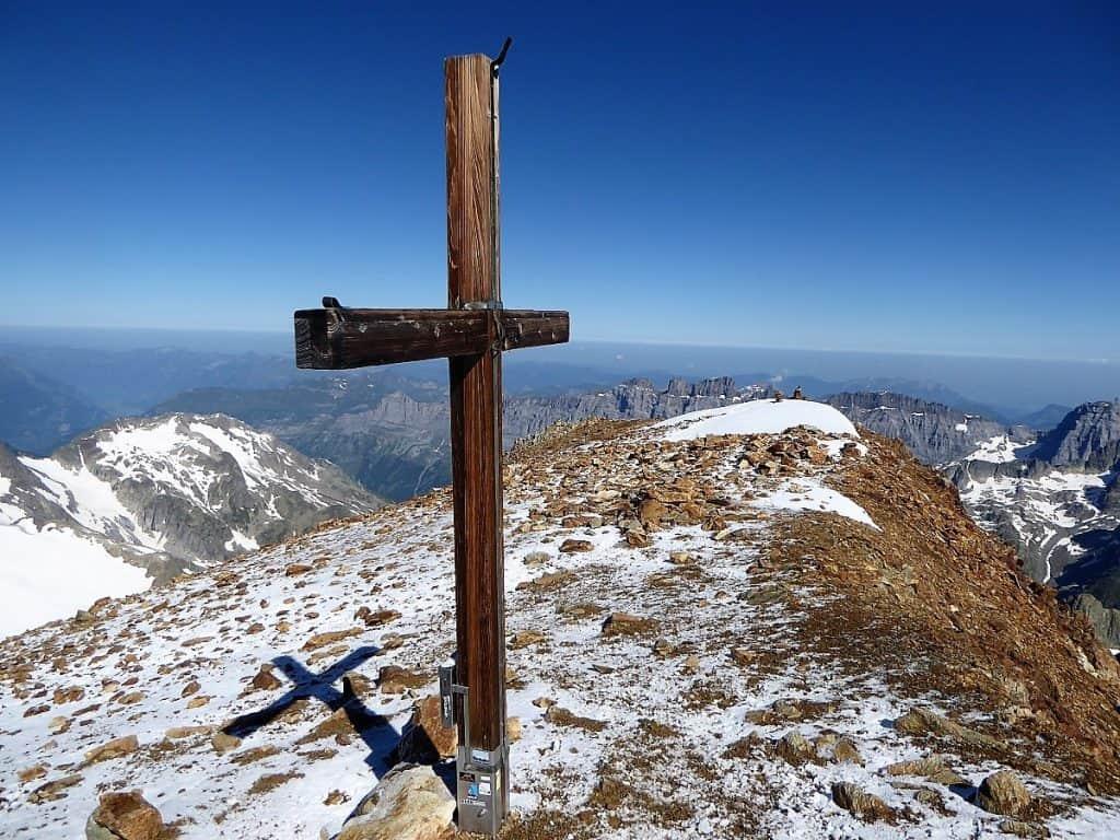 Sustenhorn Gwächtenhorn Gipfelkreuz