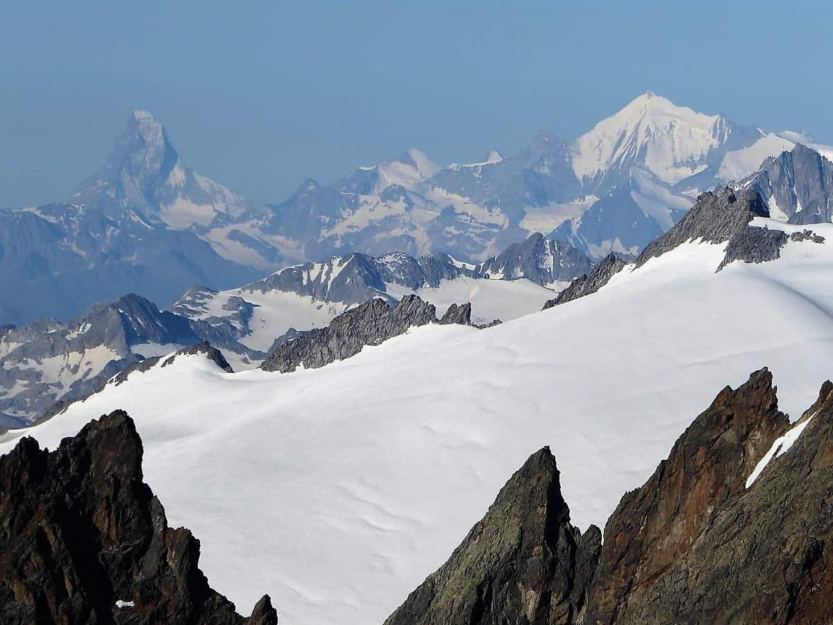 Sustenhorn Gwächtenhorn Matterhorn Weisshorn