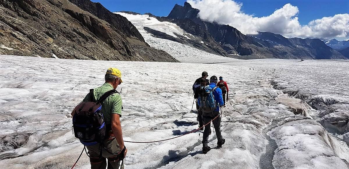 Aletschgletscher-Trekking 2