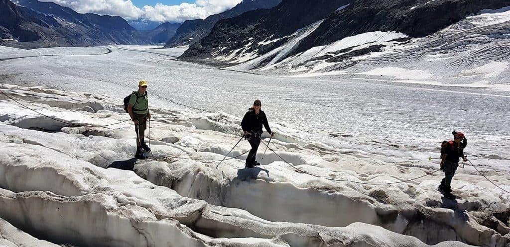 Aletschgletscher-Trekking 3