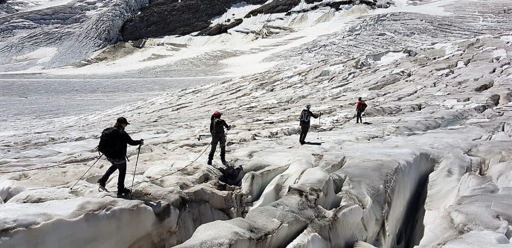 Aletschgletscher-Trekking 4