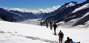 Aletschgletscher-Trekking Bergführer