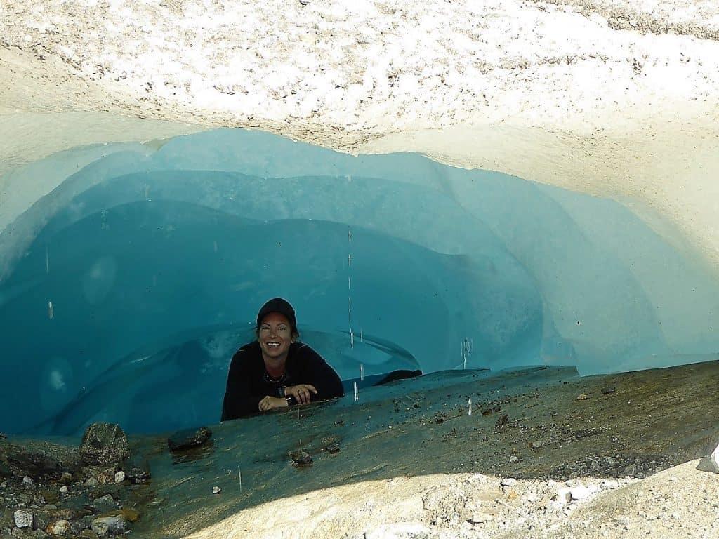 Aletschgletscher-Trekking Eisgrotte