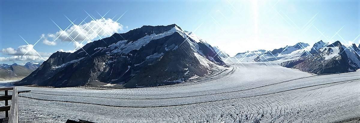 Aletschgletscher-Trekking Konkordiaplatz