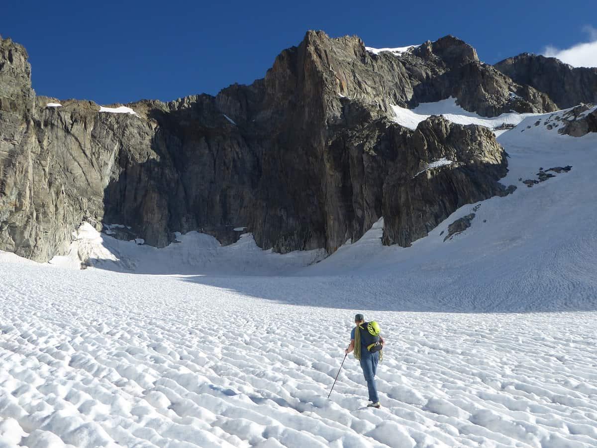 Klettern Furka Galengratverschneidung