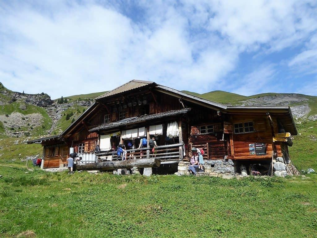 Lobhörner Überschreitung Alp Suls