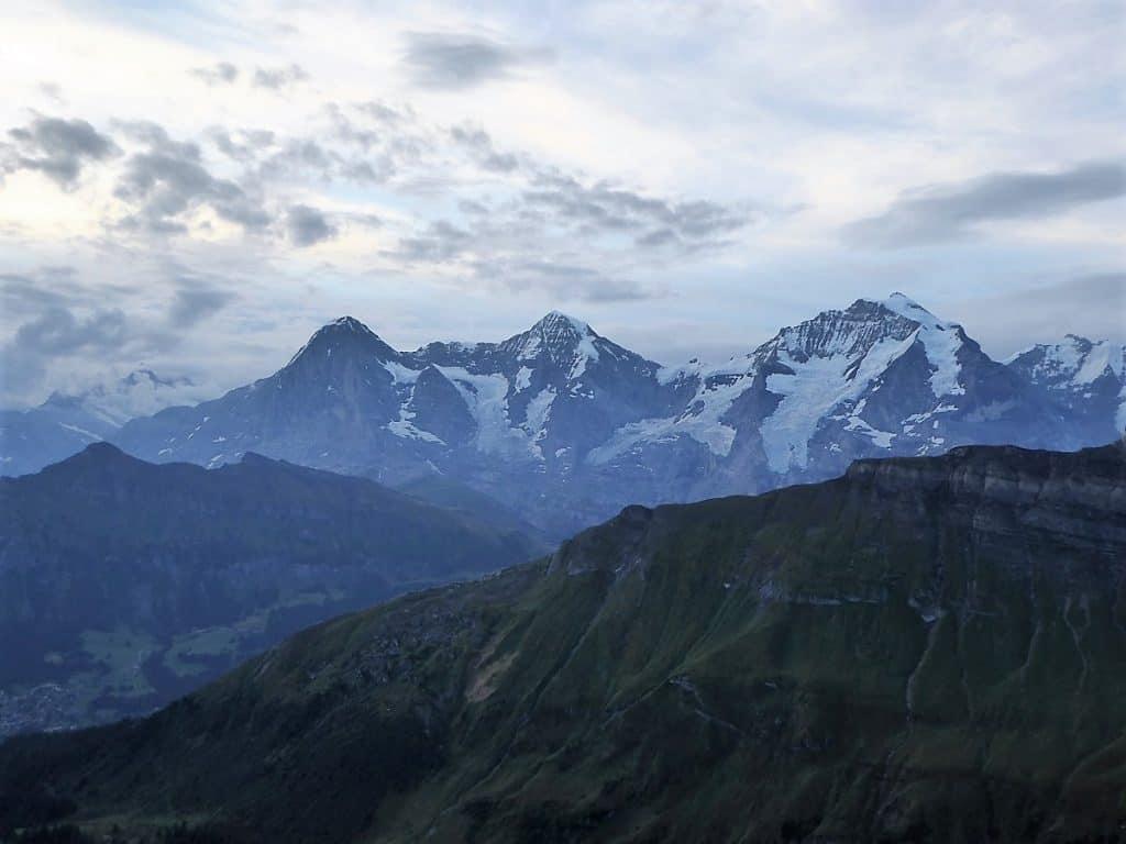 Lobhörner Überschreitung Eiger, Mönch und Jungfrau