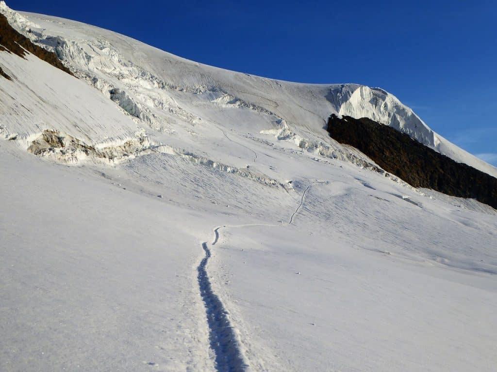 Alphubel Gletscher