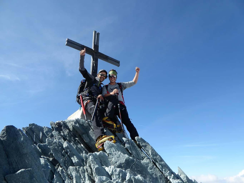 Allalinhorn Gipfel