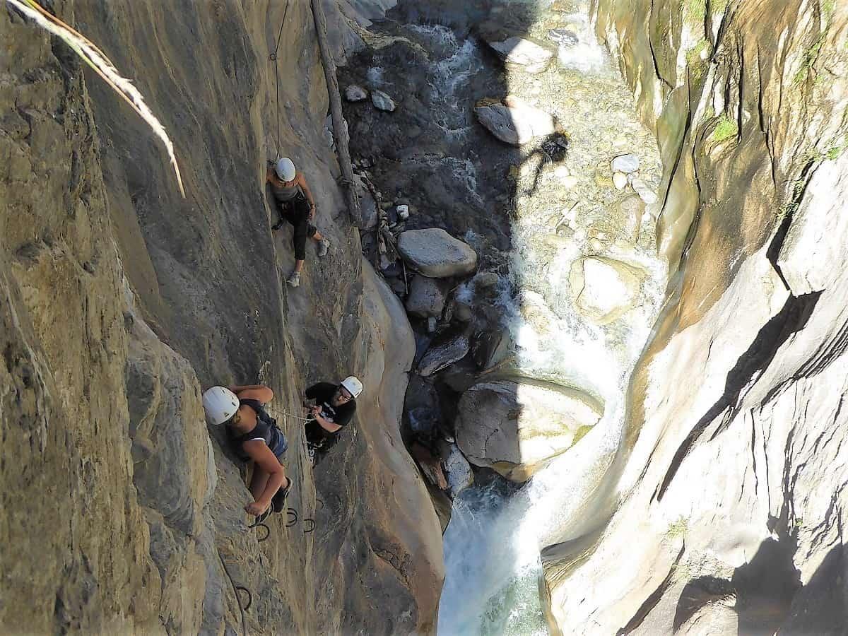 Bietschi-Schlucht Klettersteig