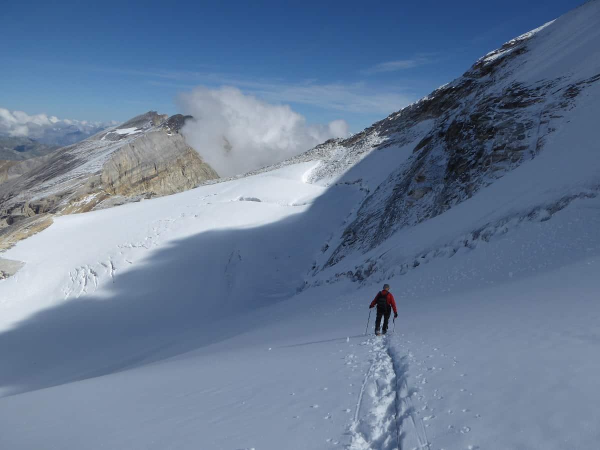Brunegghorn Abstieg