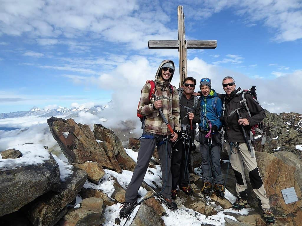 Ofenhorn Gipfel