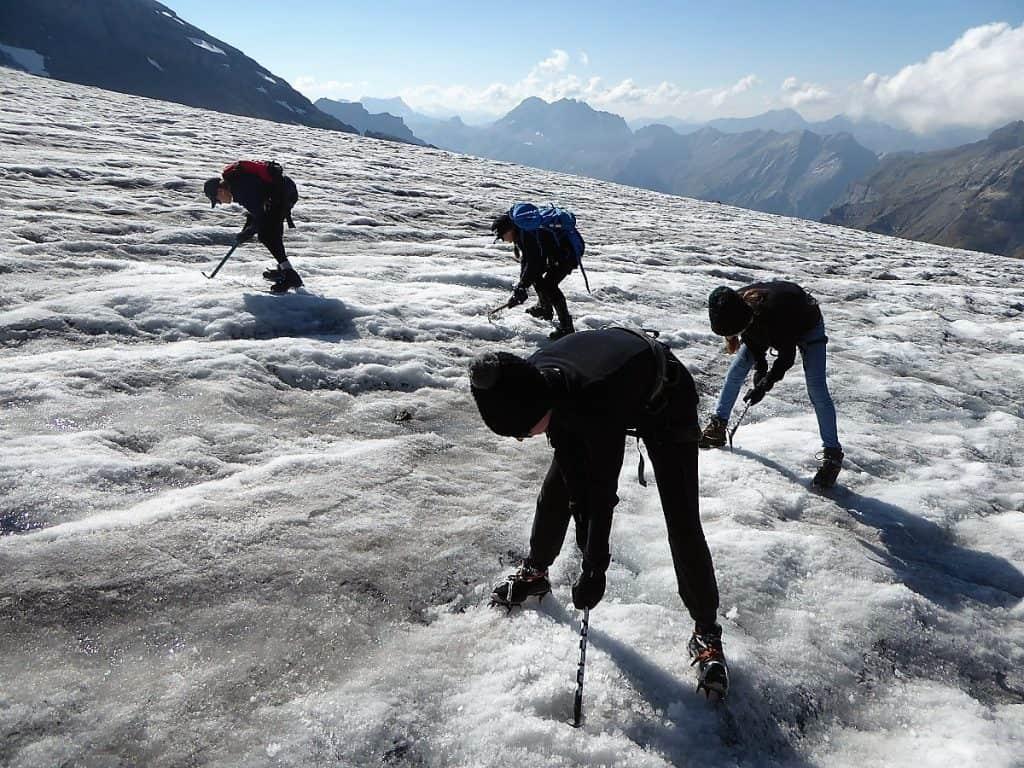 Projekt-Woche Alpenlernen Blüemlisalphütte