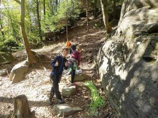 Kinder-Bergsteigen Herbst-Kletterlager