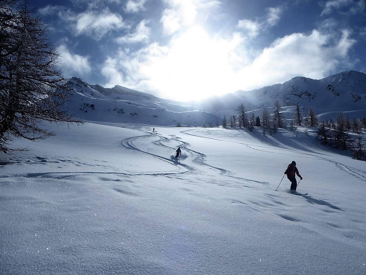 Skitour Stockhorn Binntal