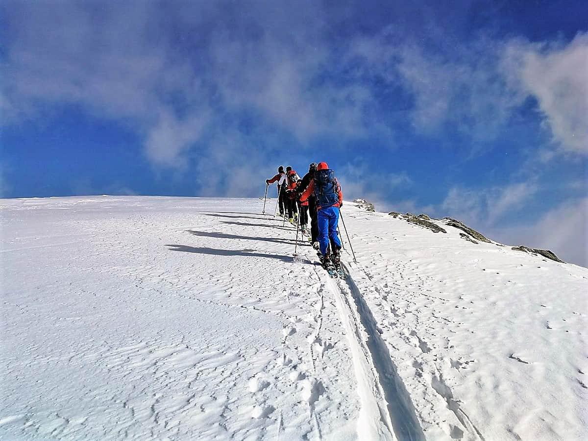 Skitour Stockhorn Binntal 9